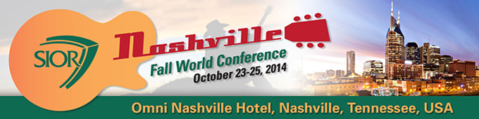 SIOR's Fall World Conference: October 23-25, 2014 in Nashville, TN
